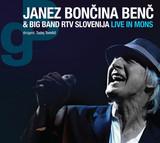"JANEZ BONČINA BENČ & BIG BAND RTV SLOVENIJA – ""Live In Mons"""