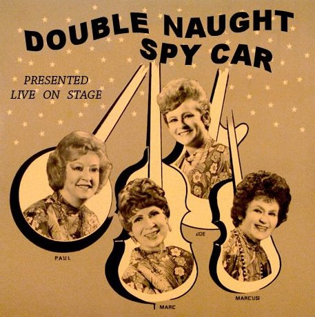 DOUBLE NAUGHT SPY CAR..Logo First One