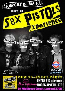 SEX PISTOLS EXPERIENCE..Band Picture