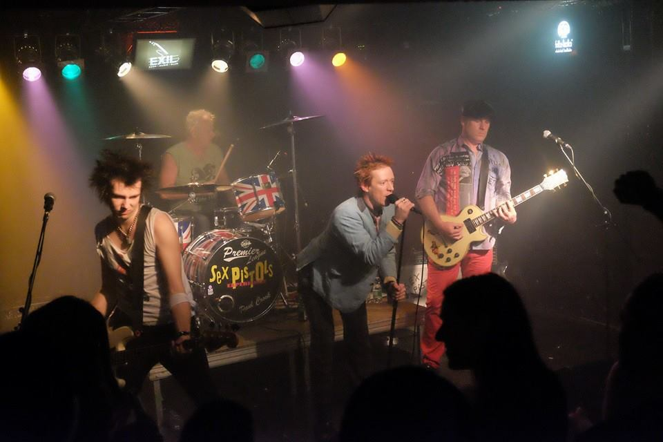The sex pistols gigs for 2008