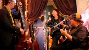 ANNIE KEATING with band..Picture