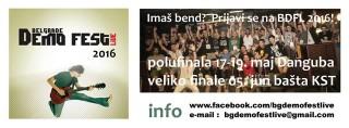 BELGRADE DEMO FEST LIVE…Četvrta sezona!!!