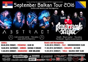 SEPTEMBER..BALKAN TOUR PROMOTIONS 2016.