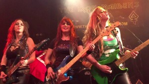 THE IRON MAIDENS..Band Picture 2