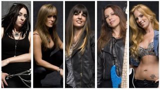 THE IRON MAIDENS..band Picture