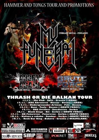 THRASH OR DIE BALKAN TOUR..11.11.-19.11.2016.