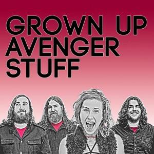 GROWN UP AVANGER STUFF...Cover