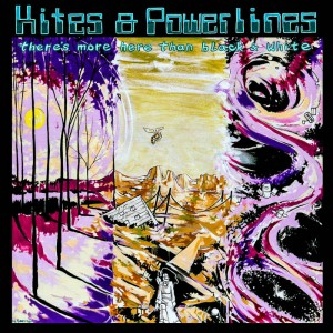 KITES AND POWE LINES..CDCover