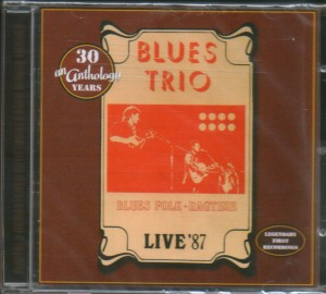 BLUES TRIO - Live'87..CDCover