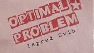 OPTIMAL PROBLEM..Ispred svih..CDCover