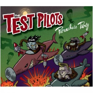 THE TEST PILOTS..Parachute Party..CDCover