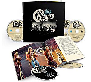 "Chicago..""Vl Decades Live ""… 4 CD + 1 DVD Box set od 6 aprila 2018."