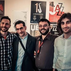 MIlan Petrovic Quartet..actual band picture