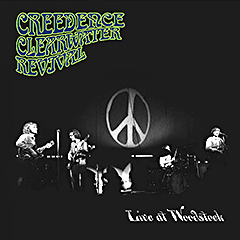 """Live At Woodstock""..  u ponudi od 2. augusta 2019. Creedence Clearwater Revivala!"