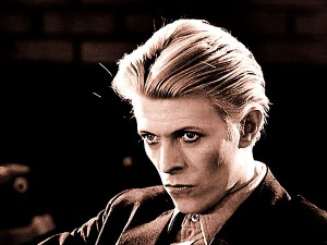 DAVID BOWIE..Personal picture