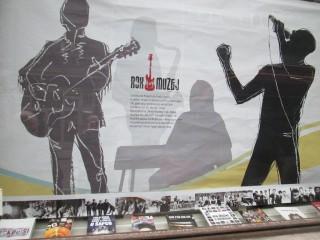 """Otvorena izložba """"ROCK SE SLUŠA I GLEDA"""""""