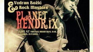 VEDRAN BOZIC..Planet Hendrix..Cover