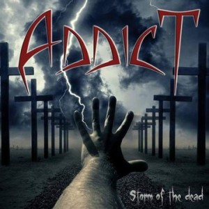 ADDICT..Storm Of The Dead..CDCover