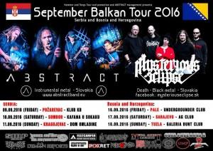 SEPTEMBER..BALKAN TOUR PROMOTIONS 2016.
