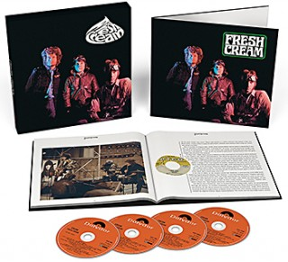 "CREAM…""Fresh Cream""..Special edition 3CD Box Set + 1 Blue Ray"