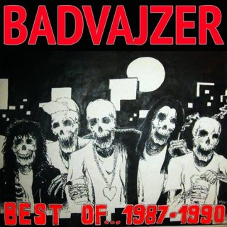 "BADVAJZER – ""Best of 1987-1990"" + ""Uživo Bašta SKC-a Jun 1990"" ( remastered )"