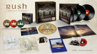 RUSH..A Farewell To KIngs...Box Set Cover