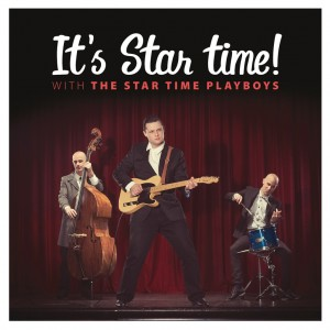 The Star Time Playboys..Album Cover actual