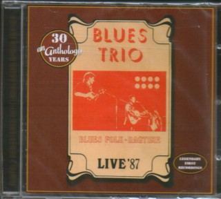 "BLUES TRIO – ""Live '87 """