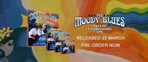 THE MOODY BLUES..Days Of Future Passed Live...Cover