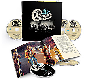"Chicago..""Vl Decades Live ""… 4 CD + 1 DVD Box set od 6 aprila 2018."