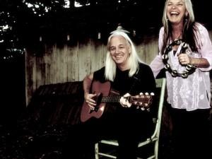 Jim Patton & Sherry Brokus..Personal picture