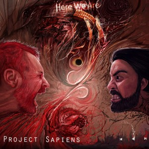 PROJECT SAPIENS...Here We Are..Cover