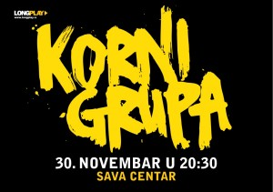 KORNI GRUPA..Long Play..Cover