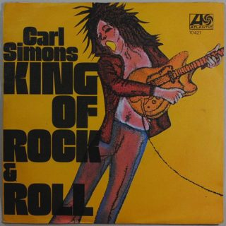 "CARL SIMMONS – ""King Of Rock & Roll""/""Down In Mexico"""