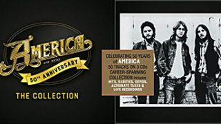 AMERICA..50th Anniversary..The Collection..Cover