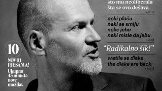 Damir Avdic..Radikalno sik..Cover